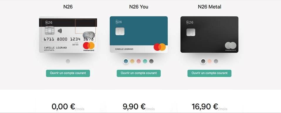 N26 banque