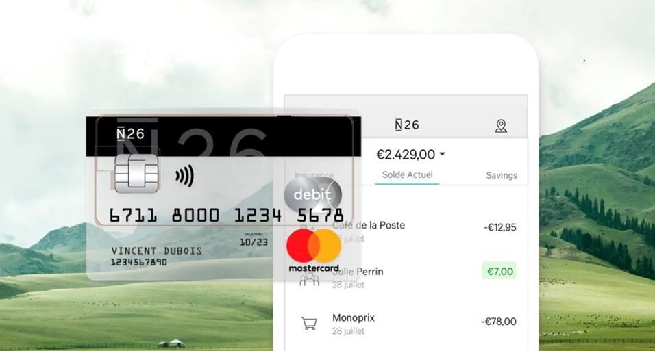 Carte N26 Belgique.N26 La Carte Bancaire Multi Devises Sans Frais Pour Les Voyageurs