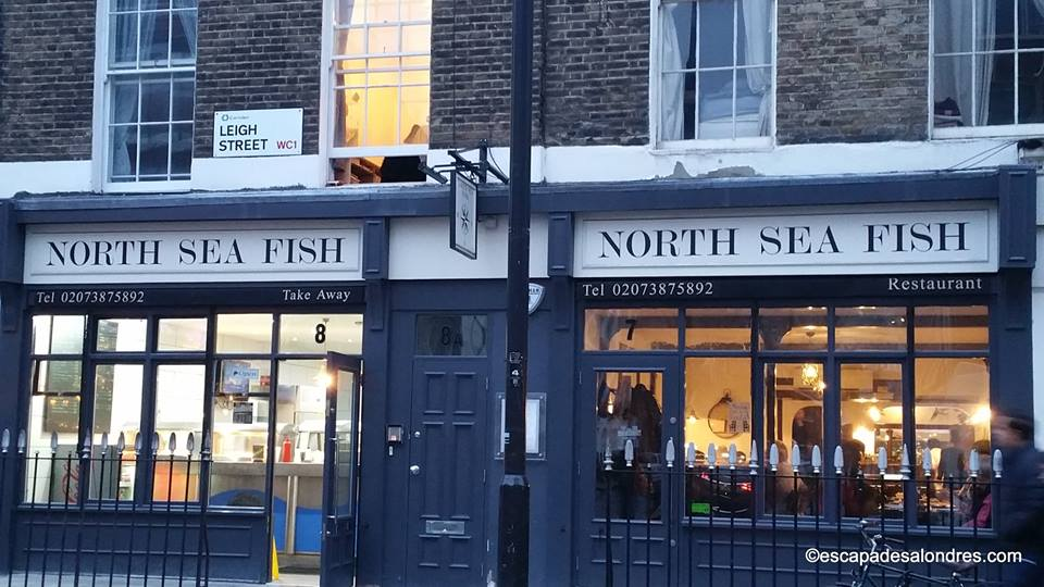 North sea fish restaurant London