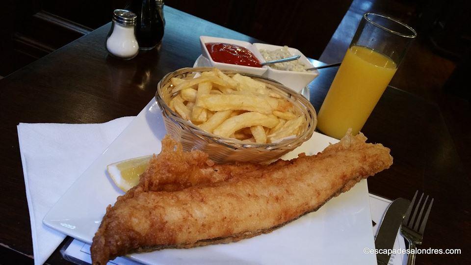 North sea fish restaurant London