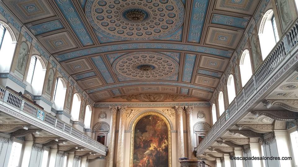 Old royal naval chapel