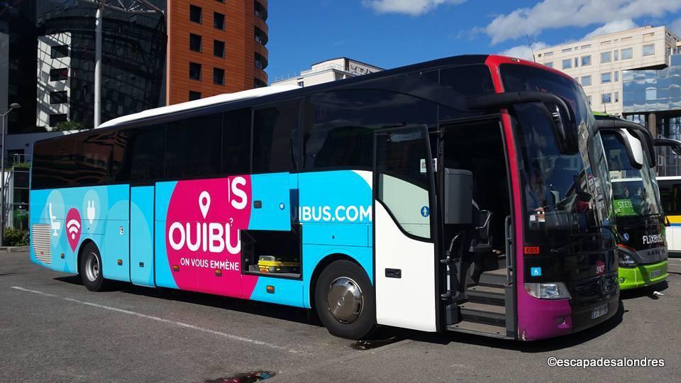 Londres en Bus avec Ouibus