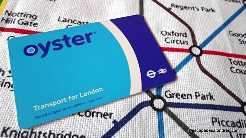 L' Oystercard vos déplacements toutes zones en un seul Pass