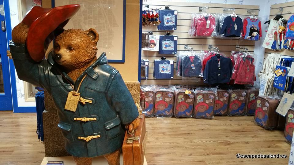 Paddington Bear boutique Shop