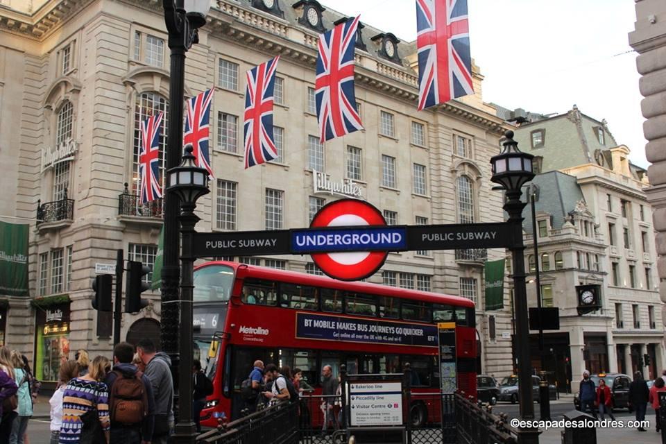 Pass touristiques Londres