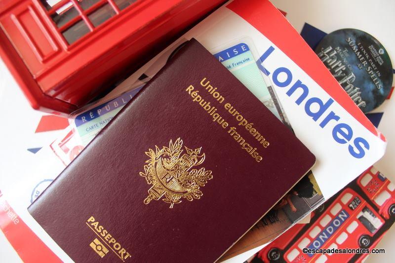 Les formalités administratives: l'Entrée et le séjour à Londres