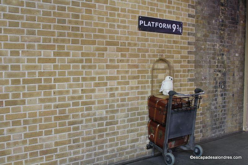 Platform Harry Potter escapadesalondres.com