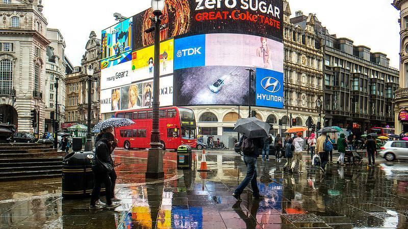 Pluie Londres©Garry Knight