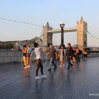Queen walk london