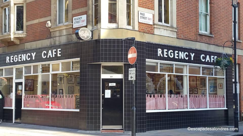 Regency cafe londres