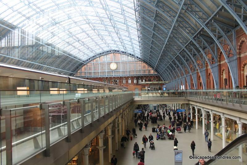Comment se rendre londres en train avec l 39 eurostar - Gare king cross londres ...