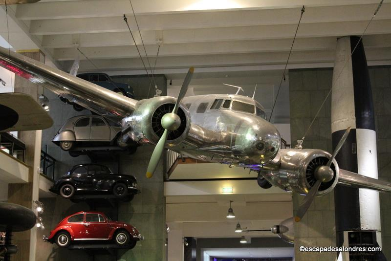 Science Muséum London : Lockheed 10A éléctra