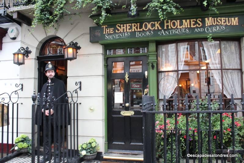 Visitez le Sherlock Holmes Museum