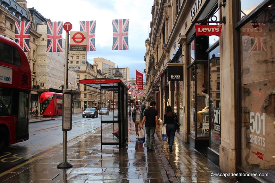 Une journ e shopping sur r gent street londres - Bon plan shopping londres ...
