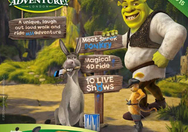 Shrek attraction