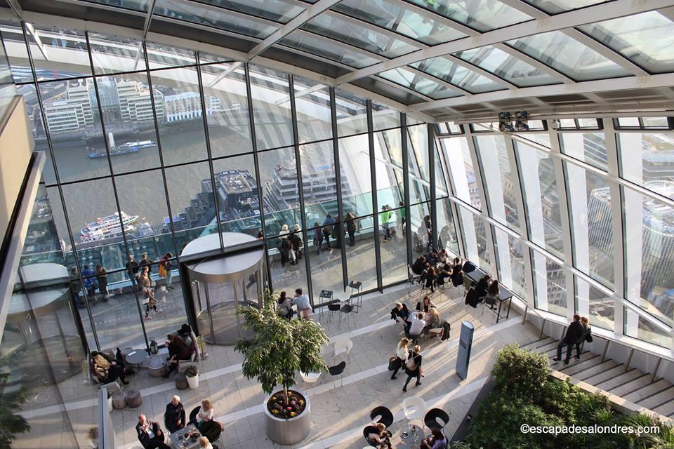 Sky Garden Un Jardin Tout En Hauteur Avec Vue Sur Londres