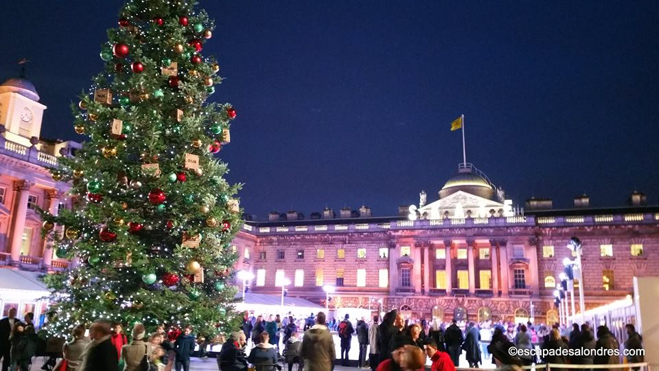 Somerset house christmas tree
