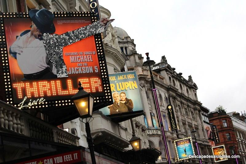 Assister à un spectacle,une comédie musicale dans le West End