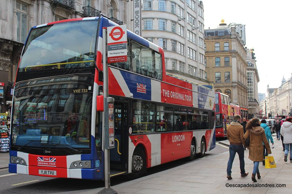 The Original Sightseeing Tour : Visite touristique de Londres en Bus