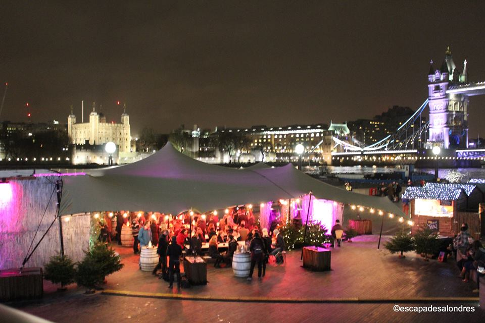 Tower bridge christmas market