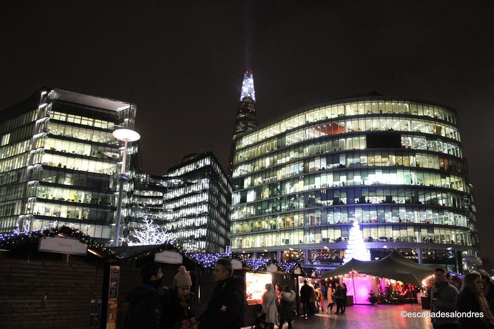 Tower bridge christmas market
