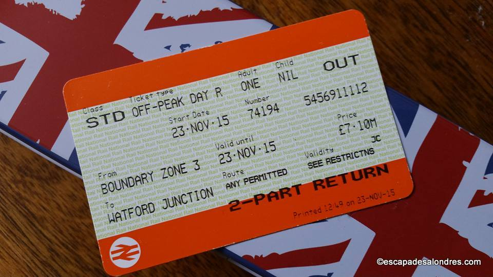 Travelcard london 2for1