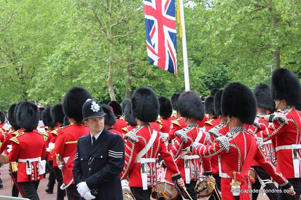 Trooping the colour london