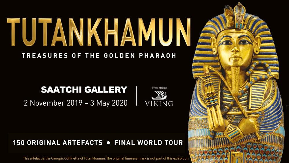 Tutankhamun londres golden pharaon
