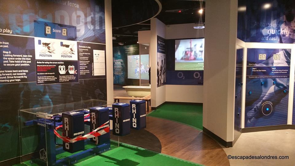 Twickenham Stadium interactive zone