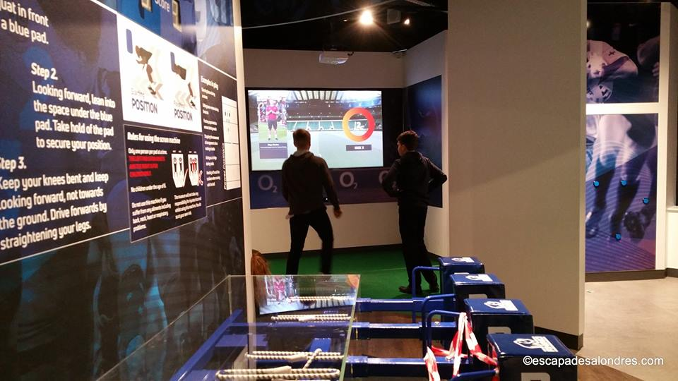 Twickenham Stadium interactive zone