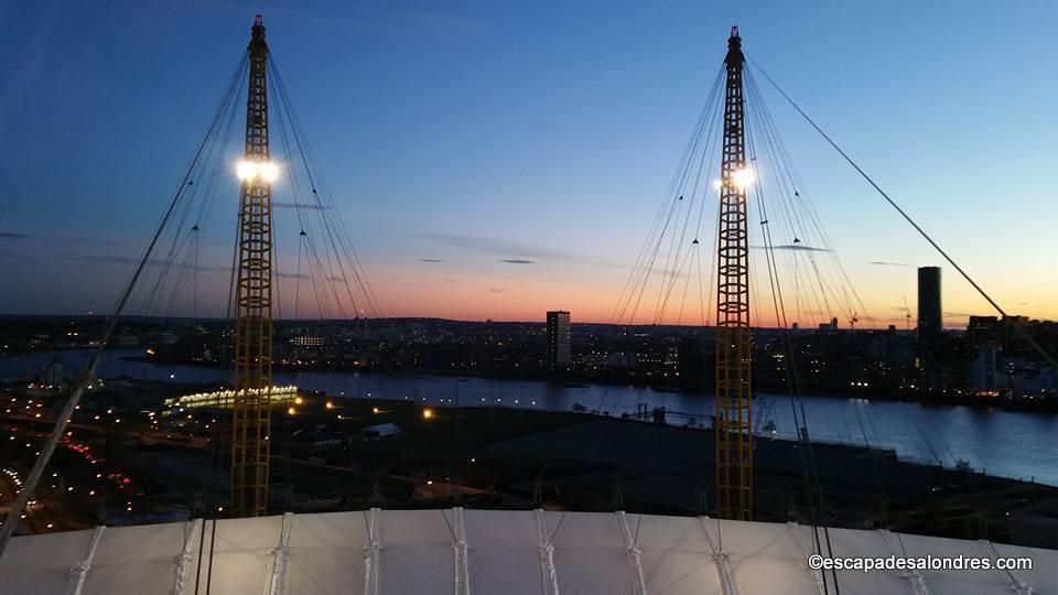 Up at the o2 london