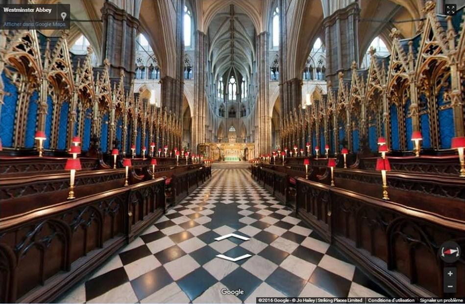 Westminster abbey image virtual google