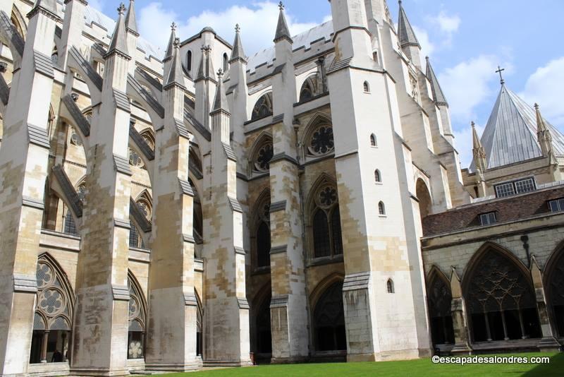 Cloitre de l'abbaye de Westminster ou Collégiale St Pierre ...