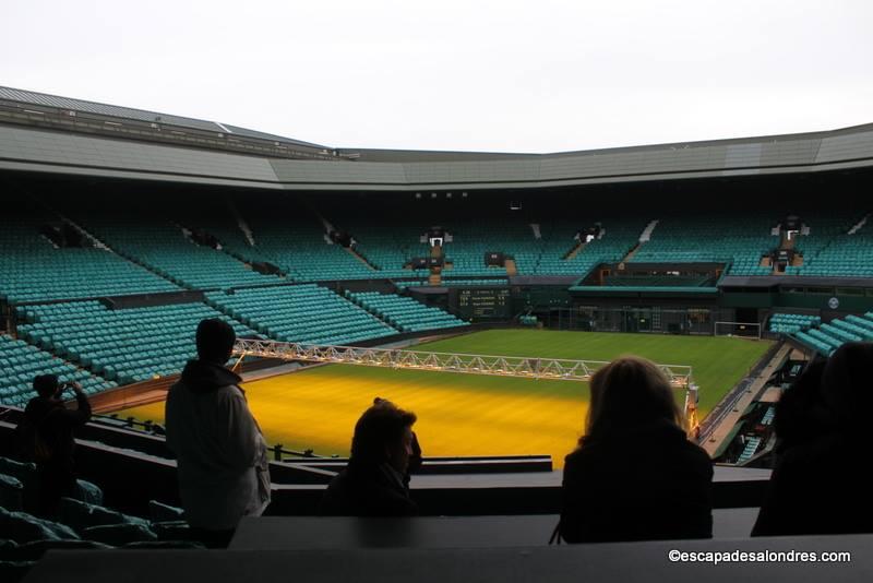La visite guidée du temple du tennis à Wimbledon