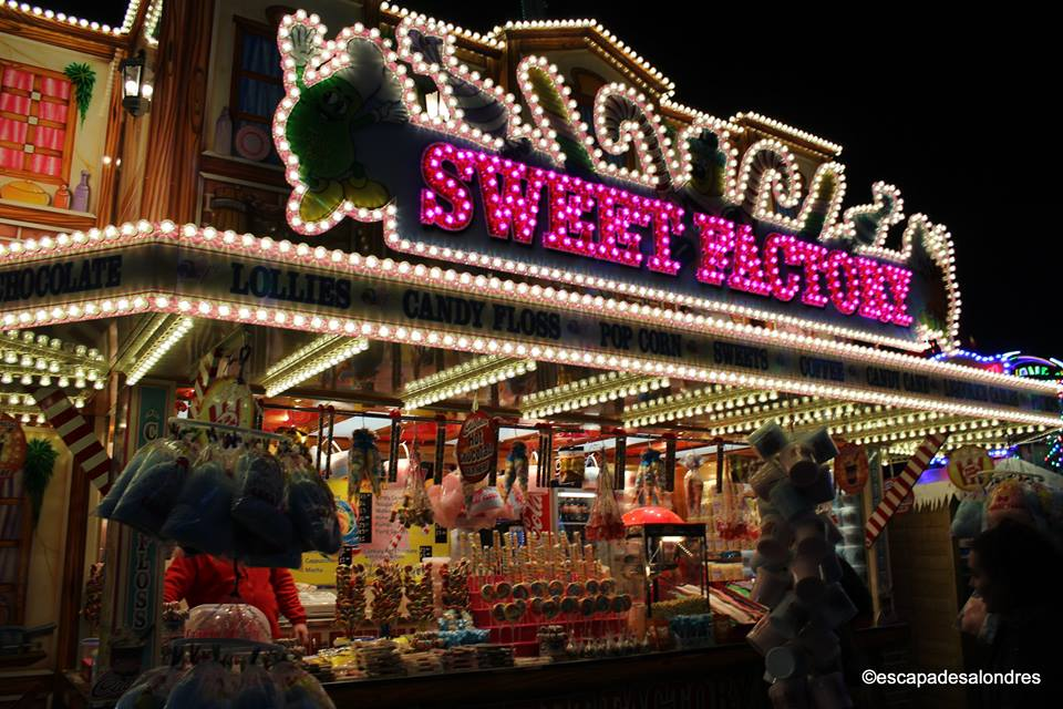 Winter wonderland christmas market