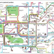 Plan des Bus & Attractions de Londres