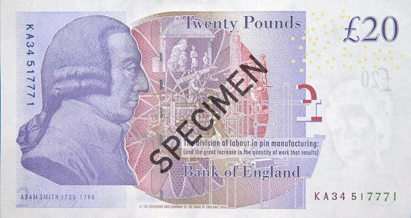 20 Livres Sterling