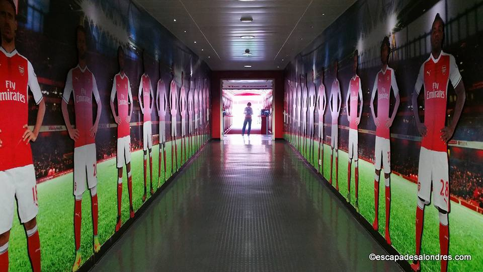 Arsenal emirates stadium tour