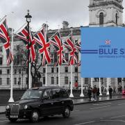 Blue siat pass london