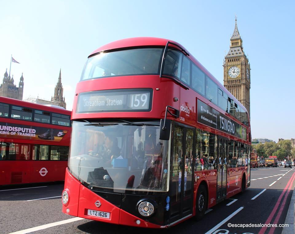 Prendre les bus Routemaster à impériale de Londres