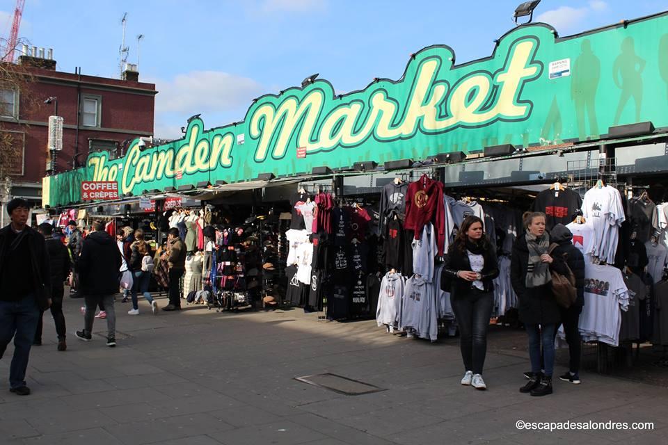 Camden Town & Market Londres