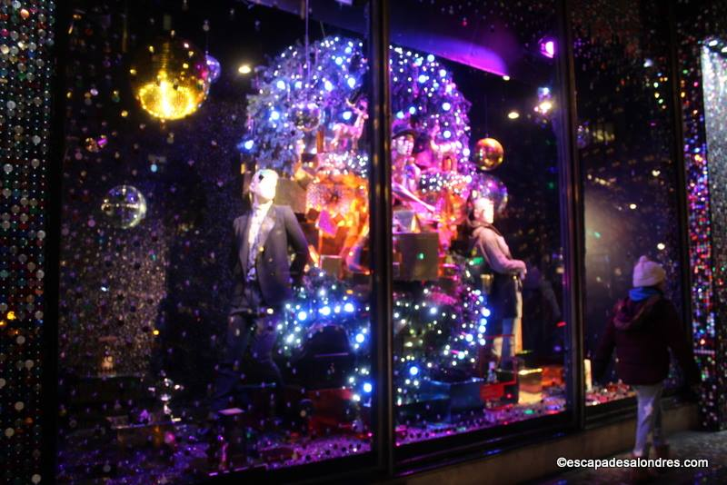 Christmas window london