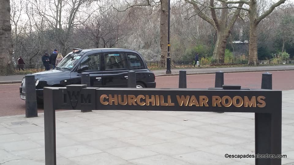 Churchill wars room