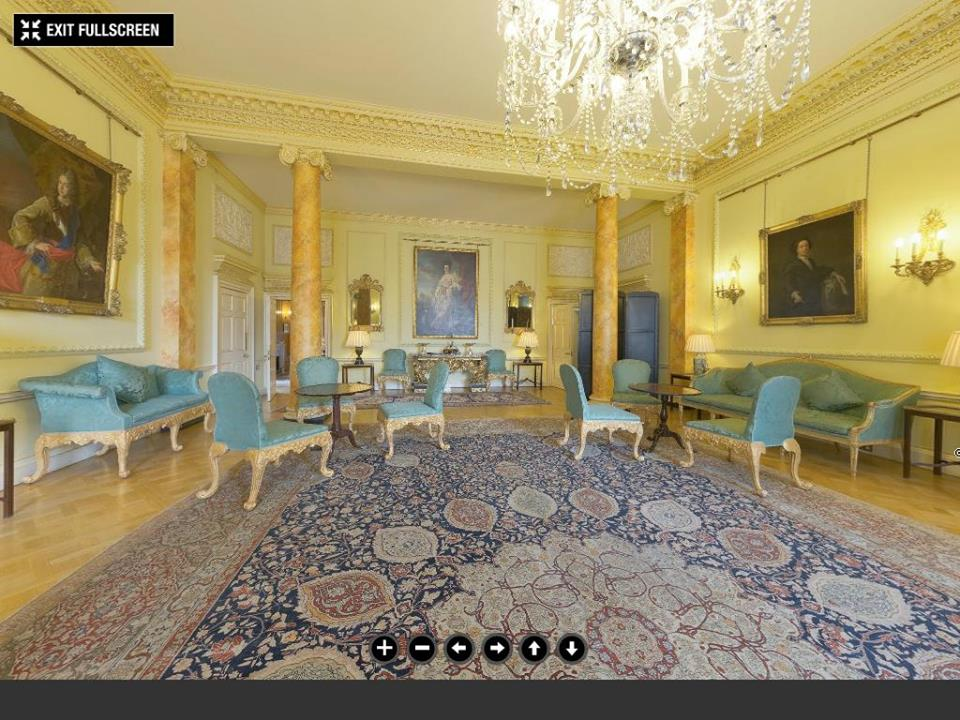Downing street pillared room©The Prime Minister's Office