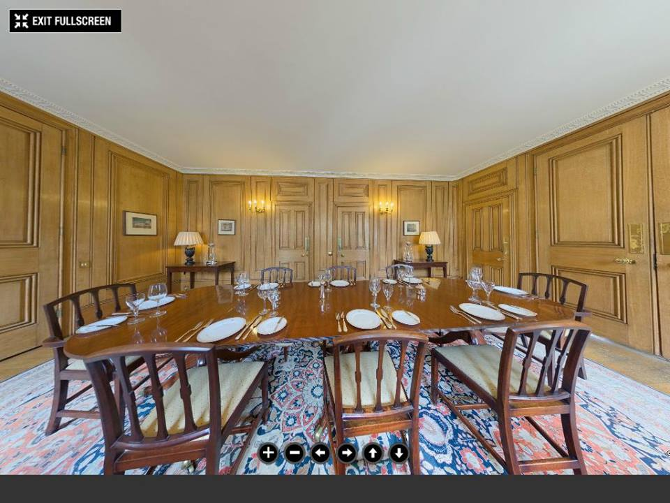 Downing street small dining room©The Prime Minister's Office