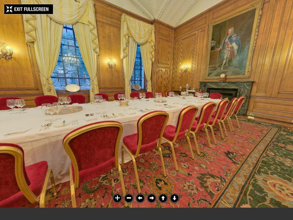 Downing street state dining room©The Prime Minister's Office