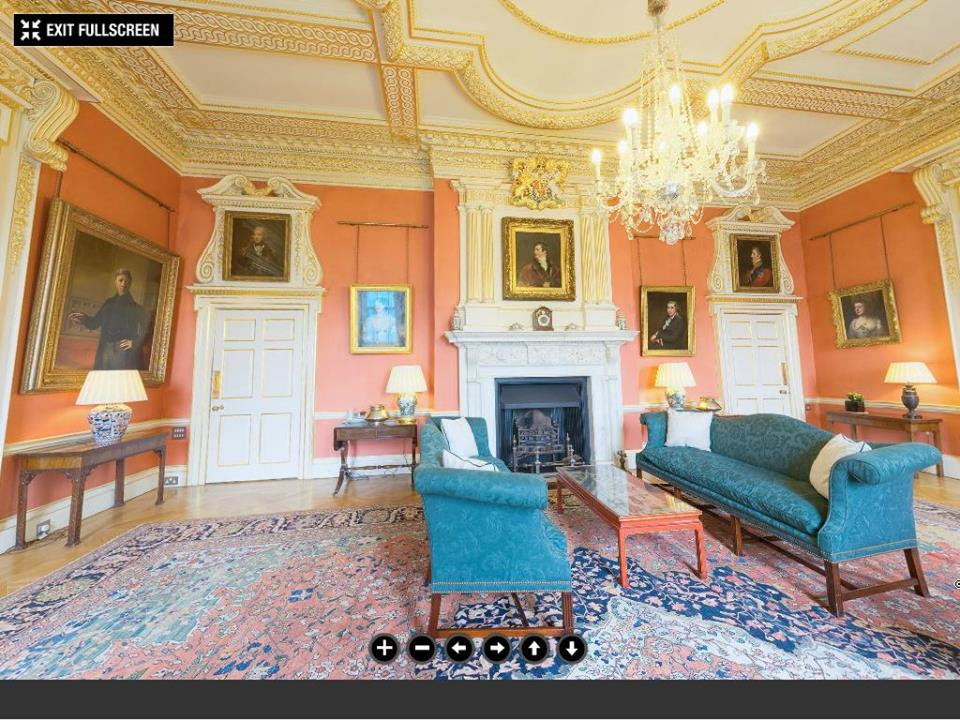 Downing street terracotta room©The Prime Minister's Office