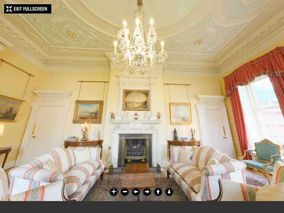Downing street white drawing room©The Prime Minister's Office