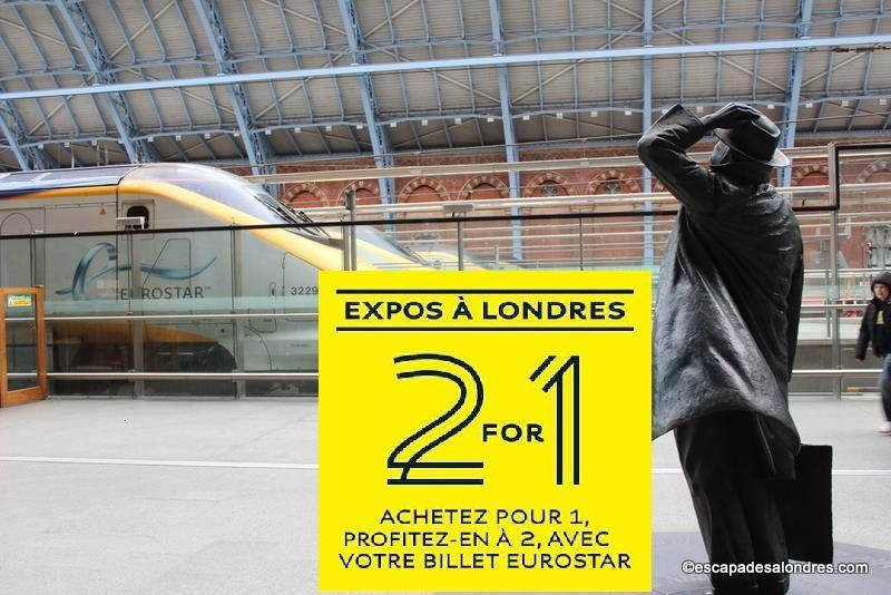 Eurostar st pancras 2for1 n
