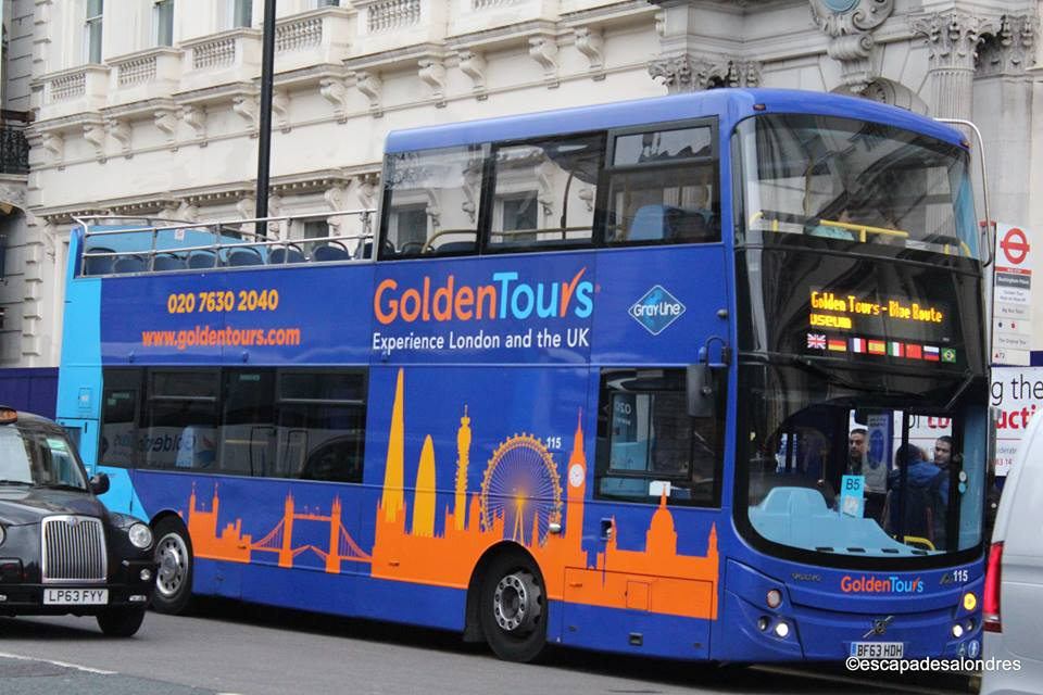 Golden tour of London